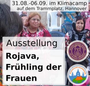 """Ausstellung """"Rojava – Frühling der Frauen"""""""